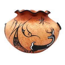 Zuni Pot by Deldrick Cellicion
