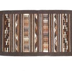 Brown/Grey Zapotec Rug 2'x3'
