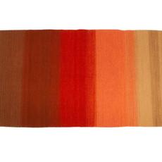 Orange Ombre Zapotec Rug 2.5' X 5'