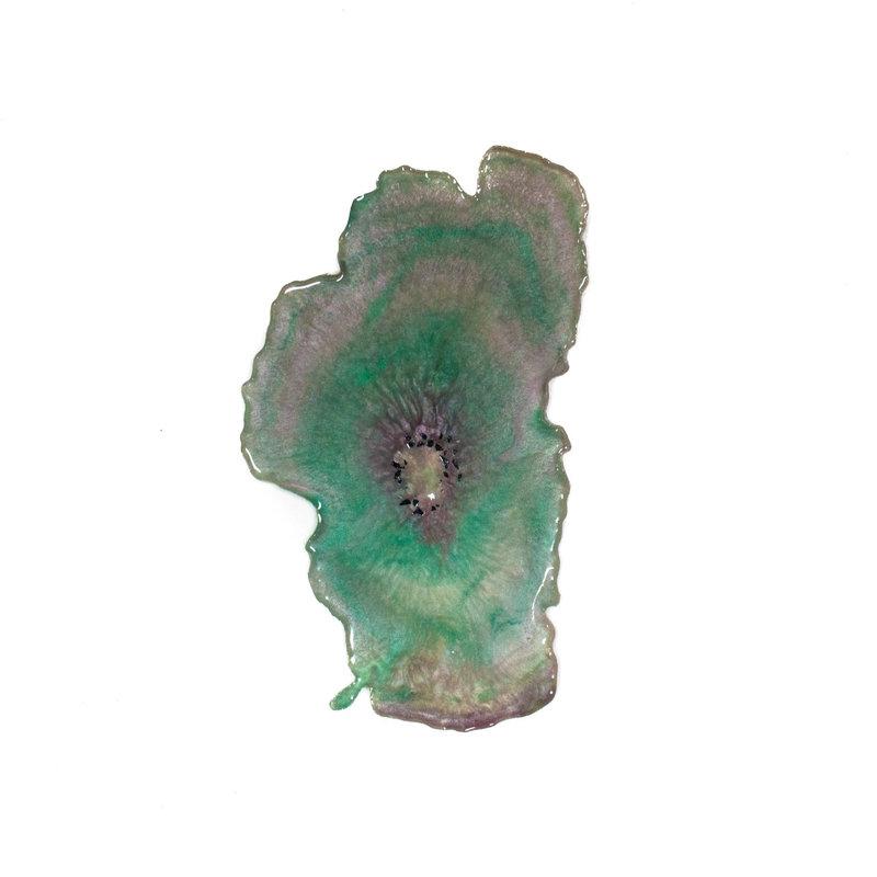 Green Tahoe Geode
