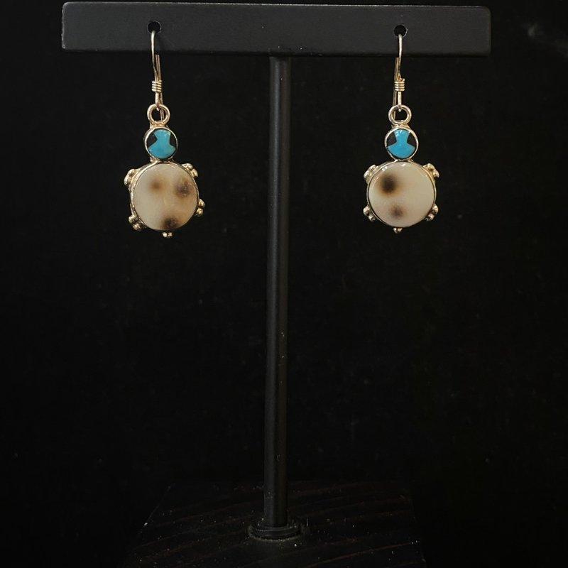 Turtle Zuni Earrings