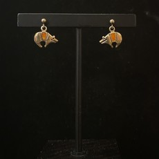 Spiny Oyster Bear earrings