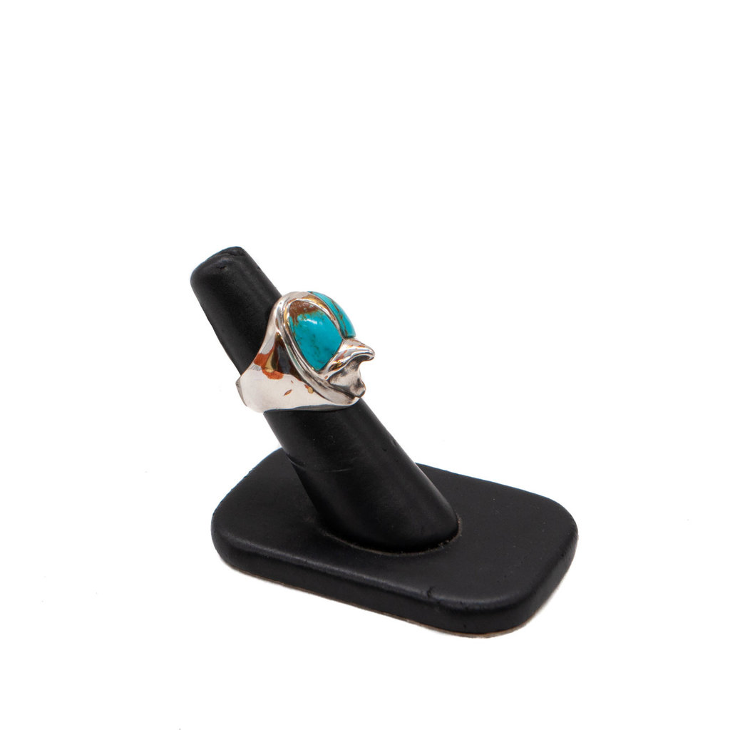 Uno Ring  - Turquoise Added