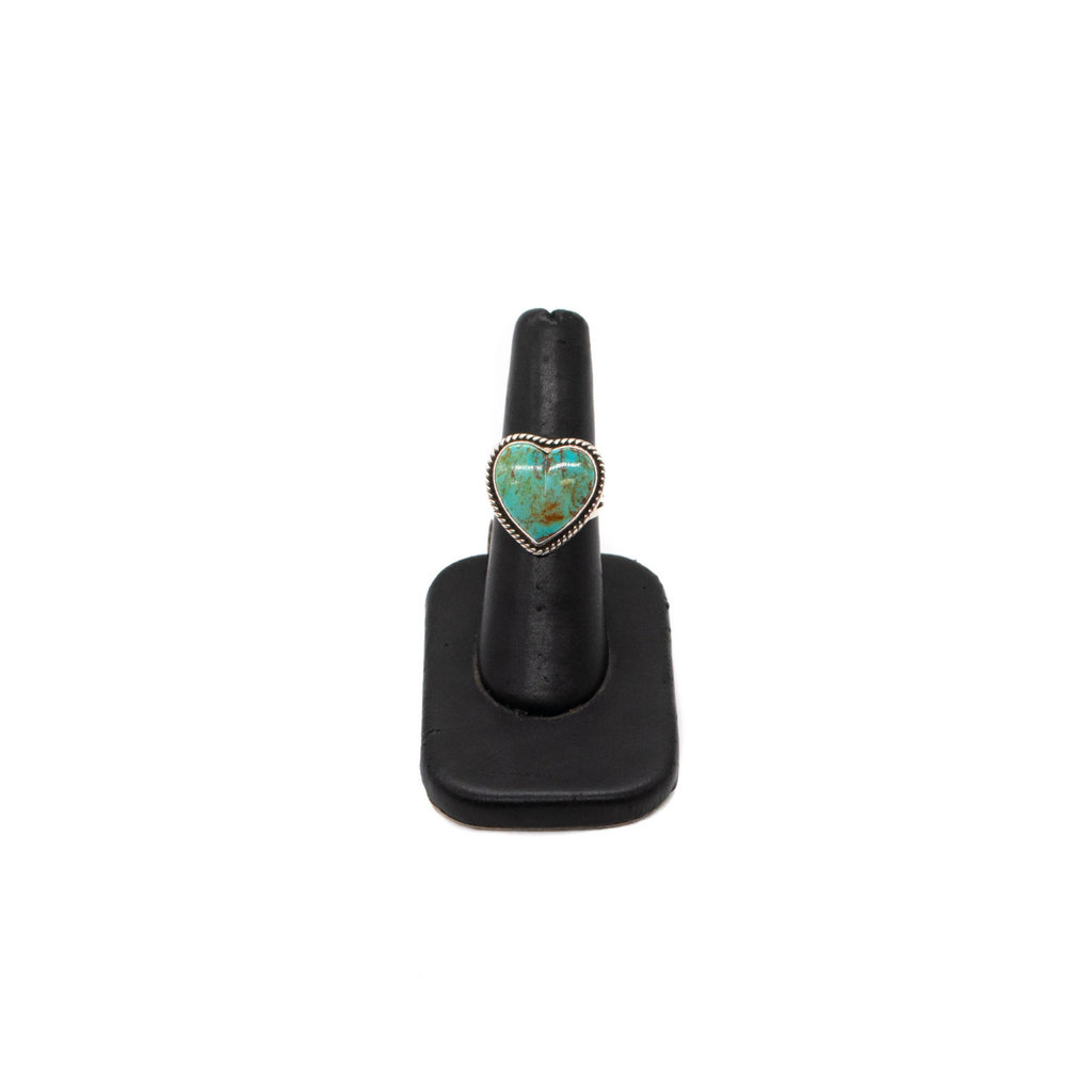 Turquoise Heart Ring - 6