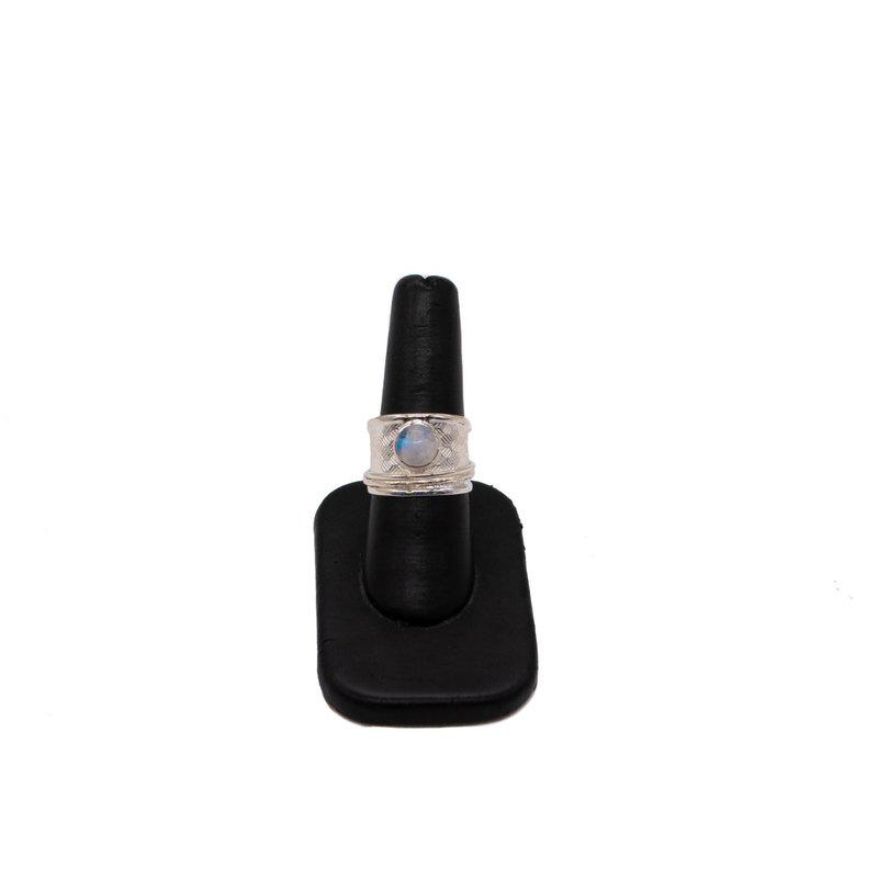 Silver & Moonstone Ring