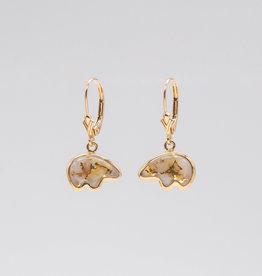 Gold Quartz Bear Ears EBR1SHQ/LB