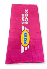 Pink FOSS Towel