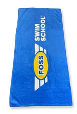 Blue FOSS Towel