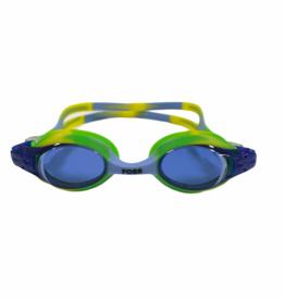 FOSS Goggle - Blue/Green Tie Dye