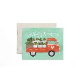 Flower Truck Birthday