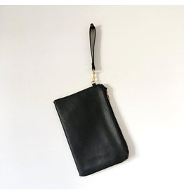 Cross Body Bag Leather: Black