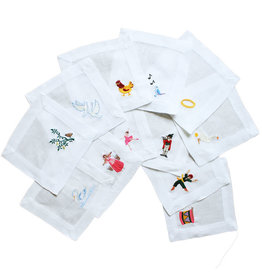 12 Days of Christmas-Cocktail Napkins