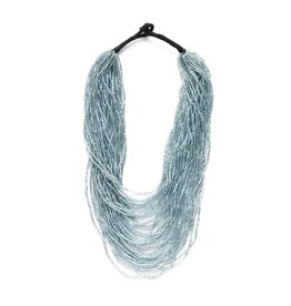 Iridescet Sky Multi Layer Necklace