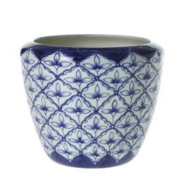 "Blue Pot 7.25""x 6"""