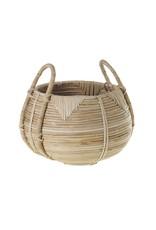 "Cane Basket 12""x 8.75"""