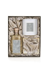 Iron Wood Gift Set-Candle and Diffuser