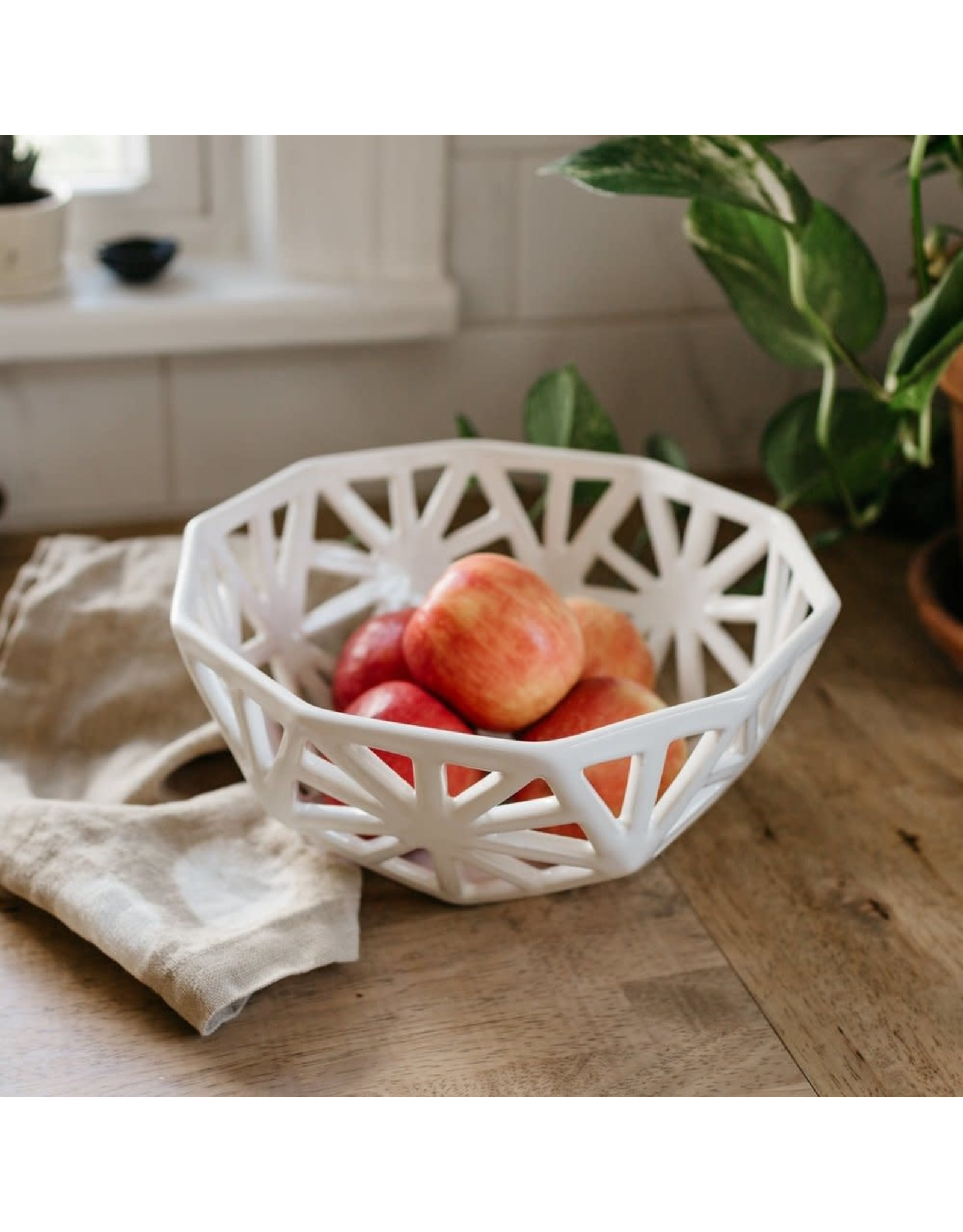 Geodesic Fruit Bowl