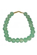 African Recycled Glass Beads Medium