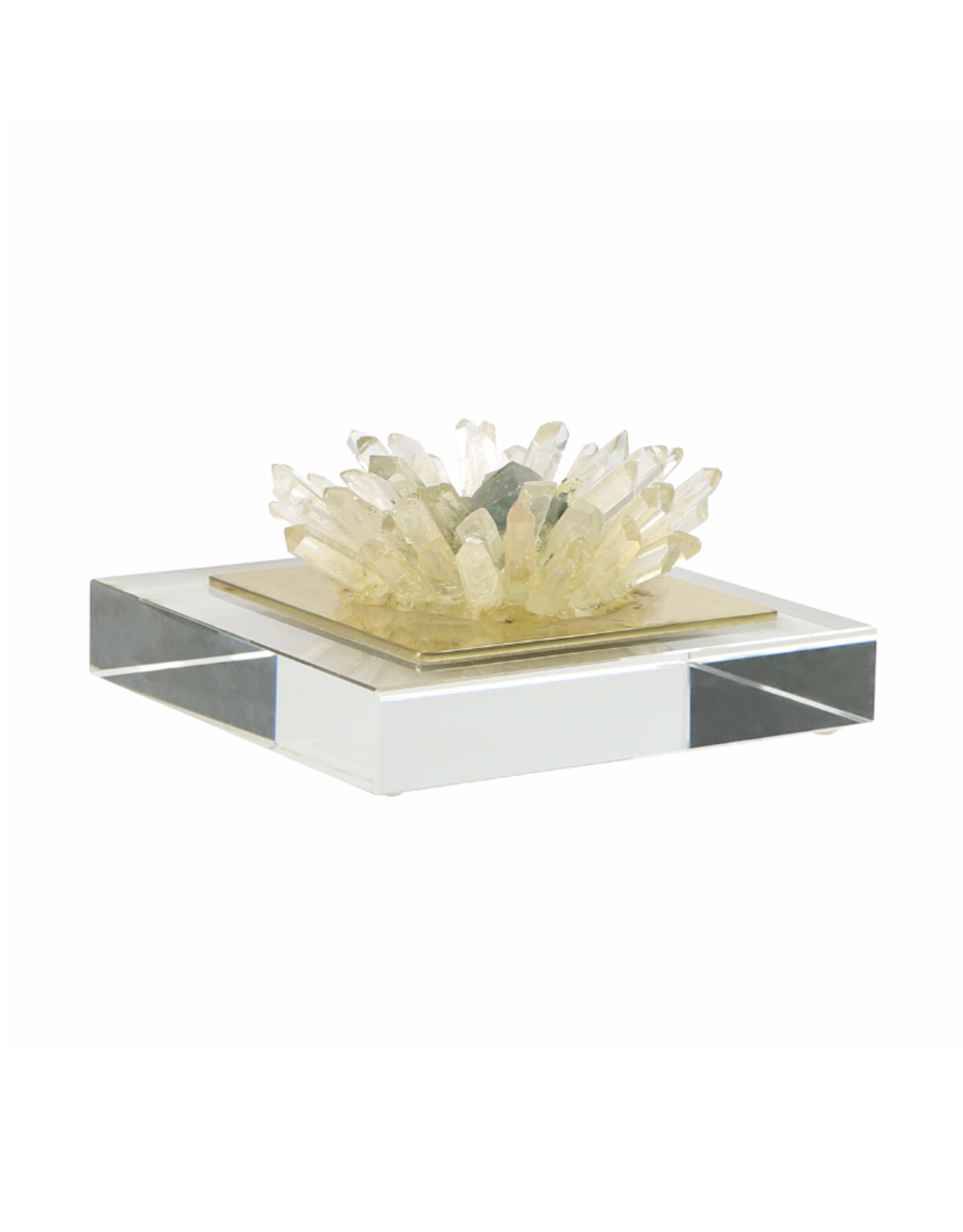 Quartz Flower on Acrylic Small
