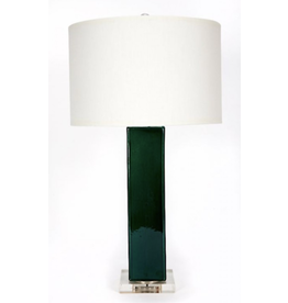 Emerald Green Lamp