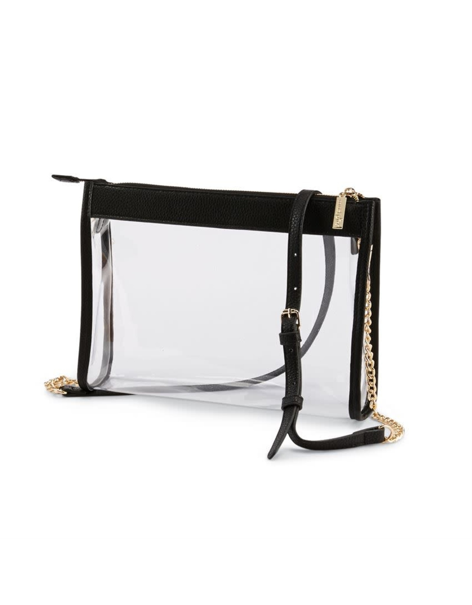 CLEAR CROSSBODY BLACK