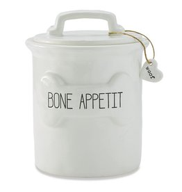 Bone Appetit Treat Canister