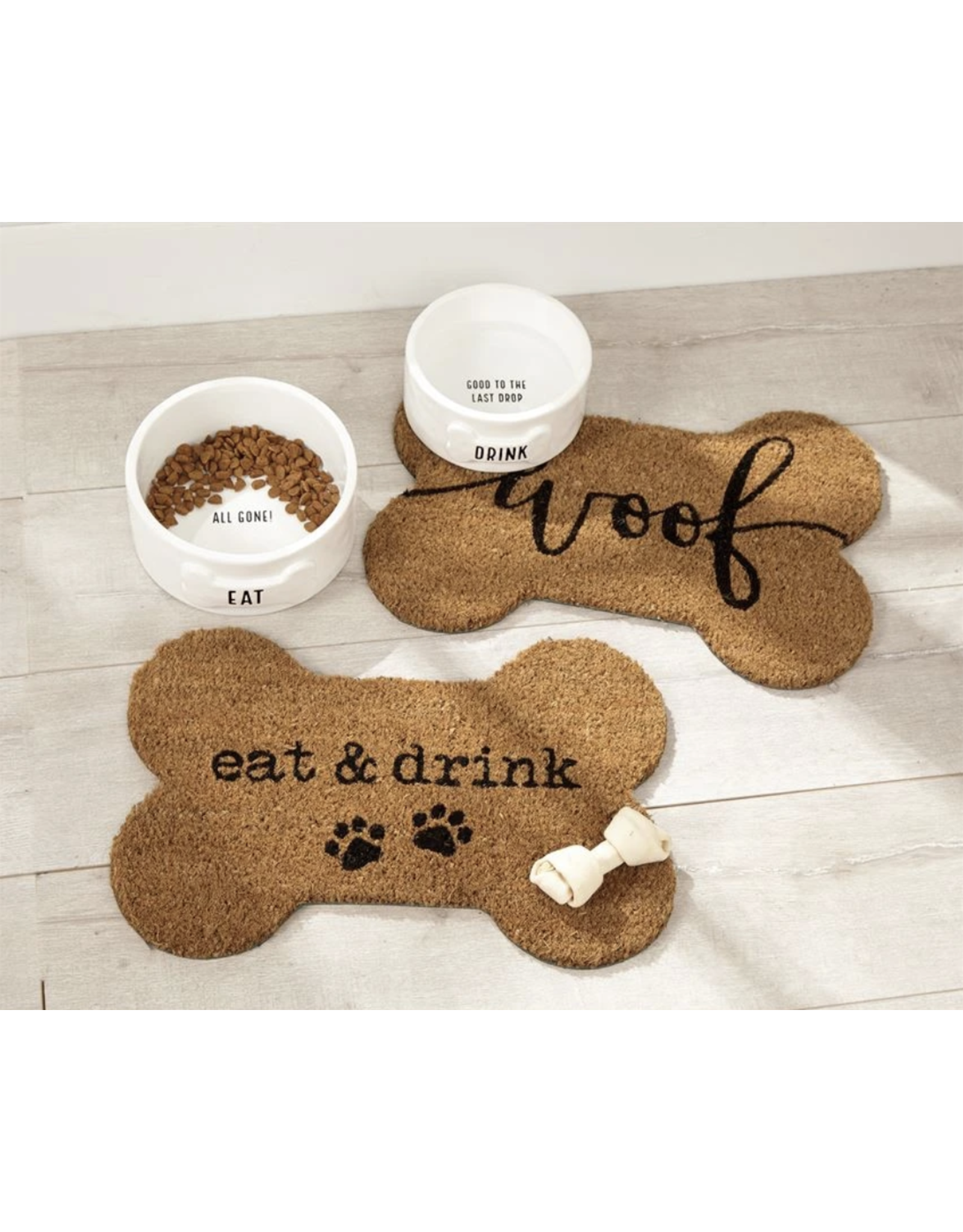 Ceramic Dog Bowl Set