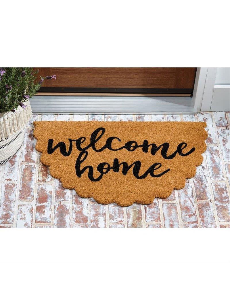 Scallop Welcome Doormat