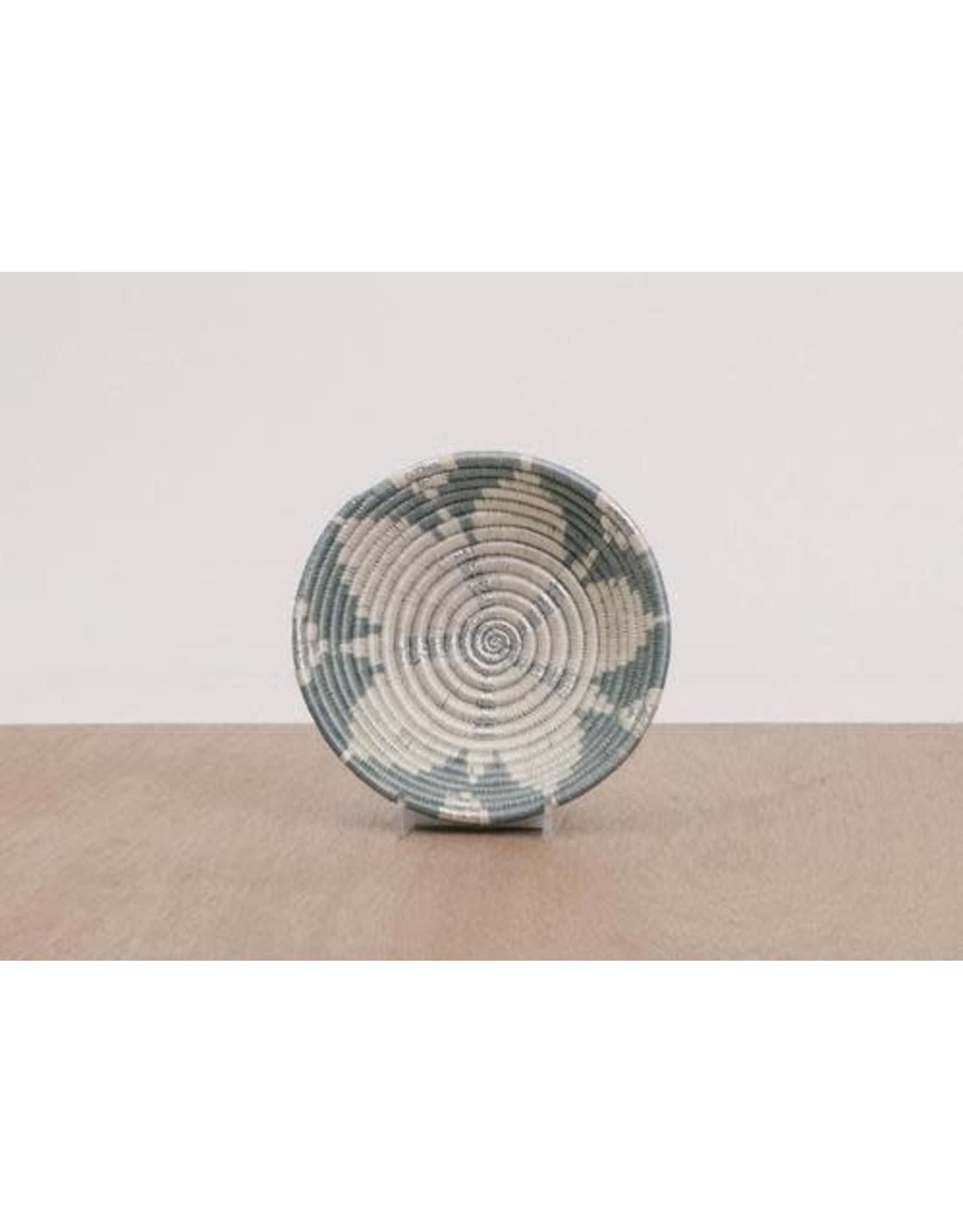 Metallic Silver Design Bowl