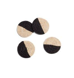 Half Black Coasters