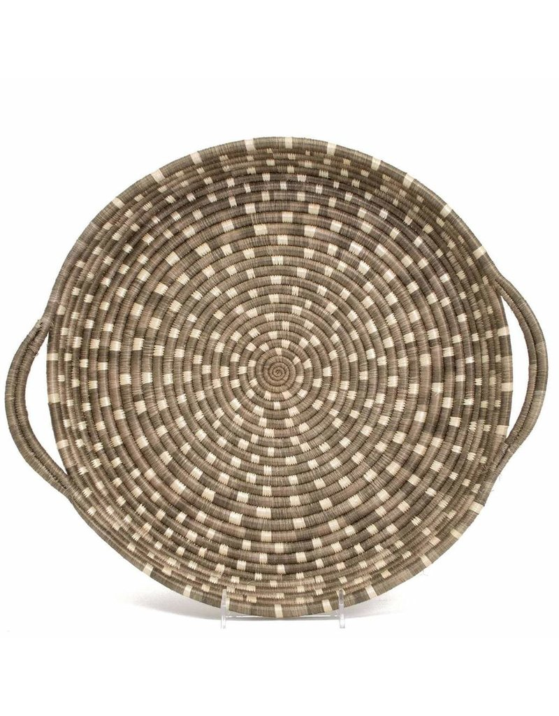 Speckled Light Taupe Tray