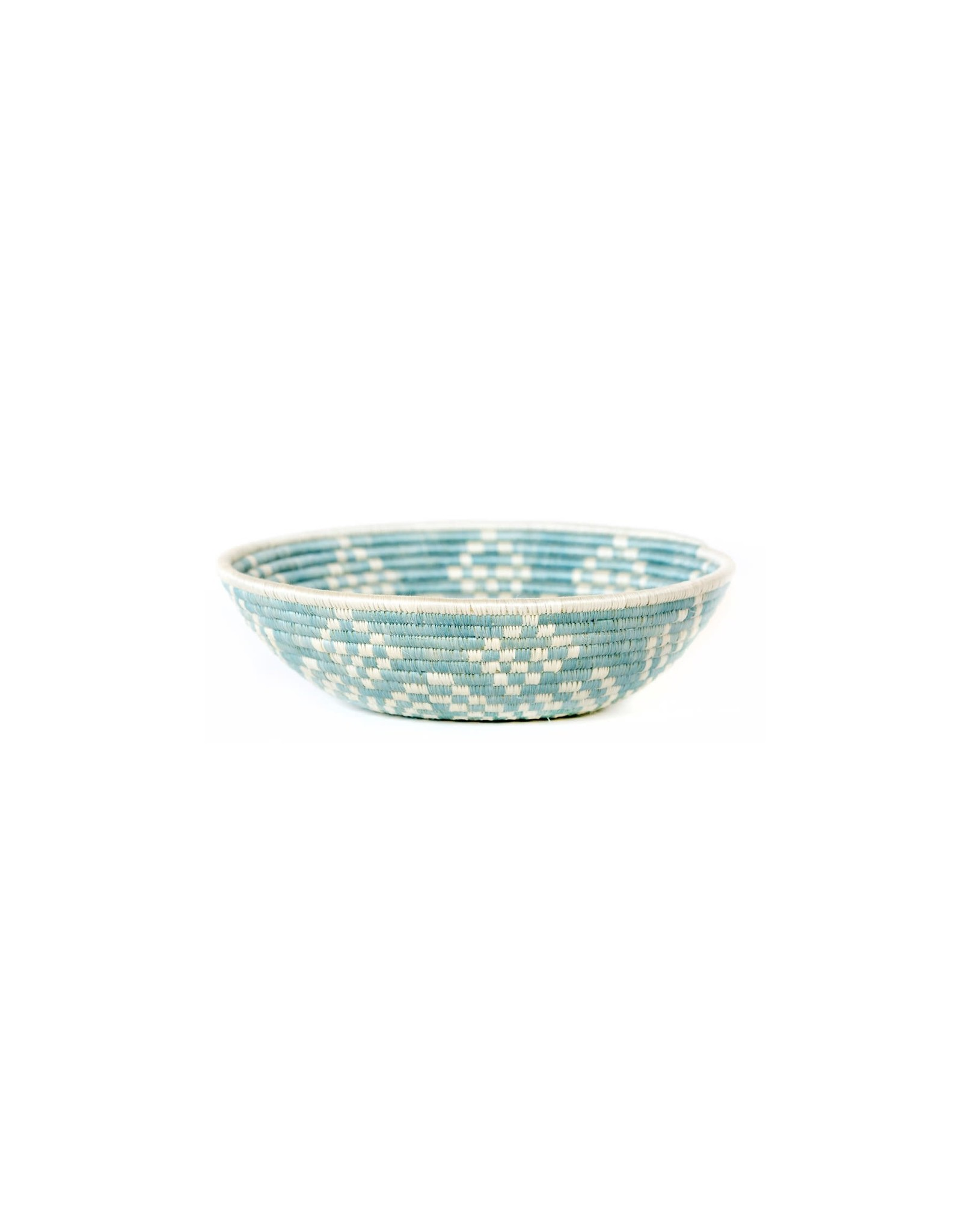 Large Silver Blue Ikaze Basket