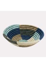 Medium Silver Blue Umuseke Basket