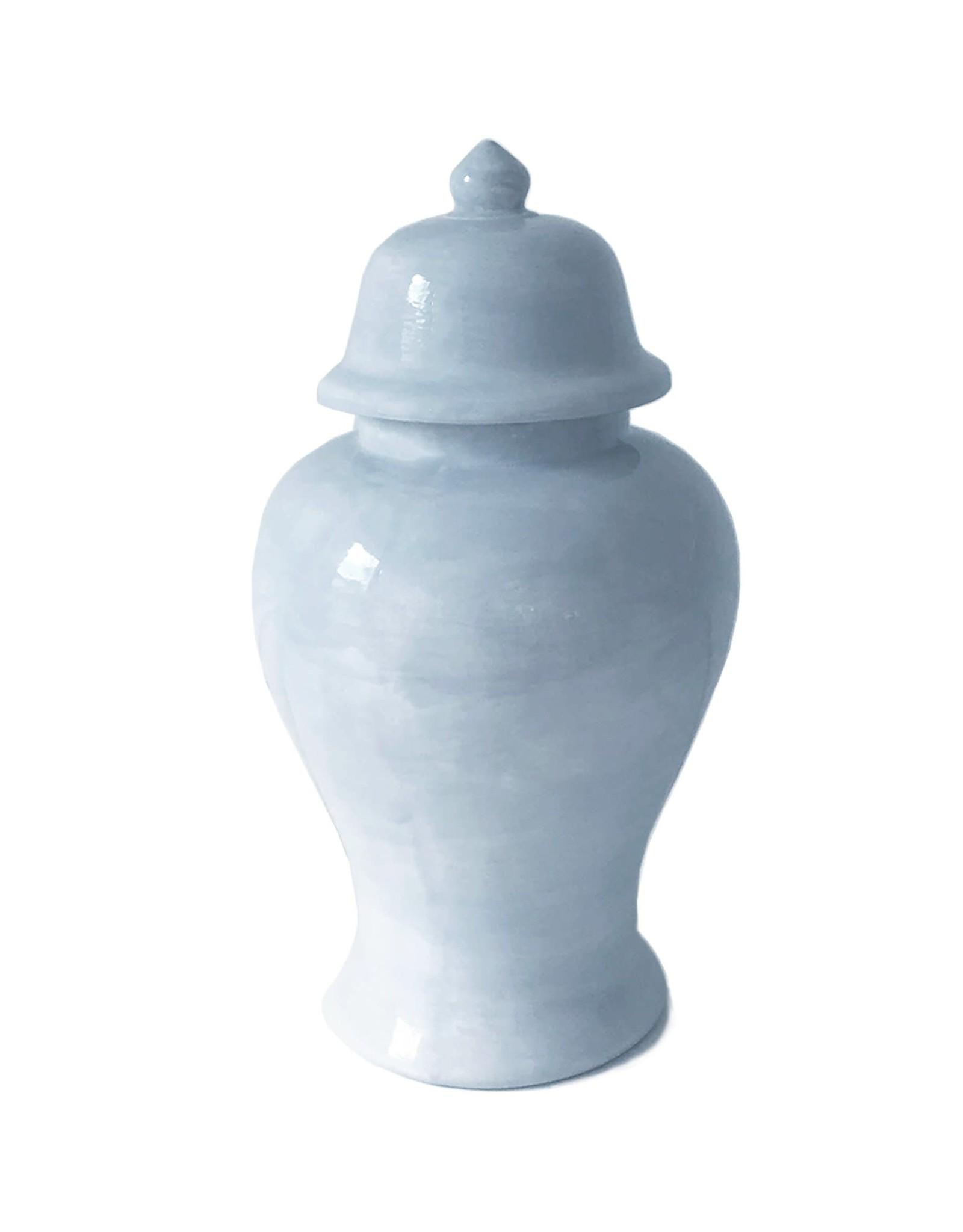Solid Hydrangea Ginger Jar - Large