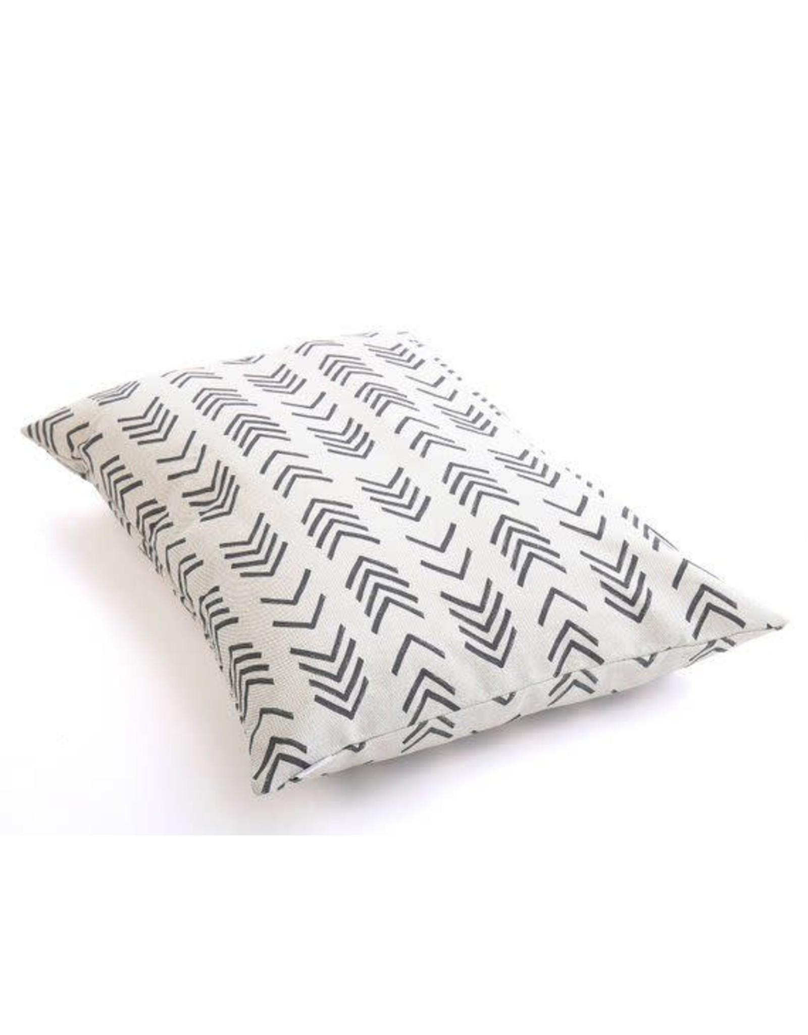 Small Modern Mud Cloth Dog Bed