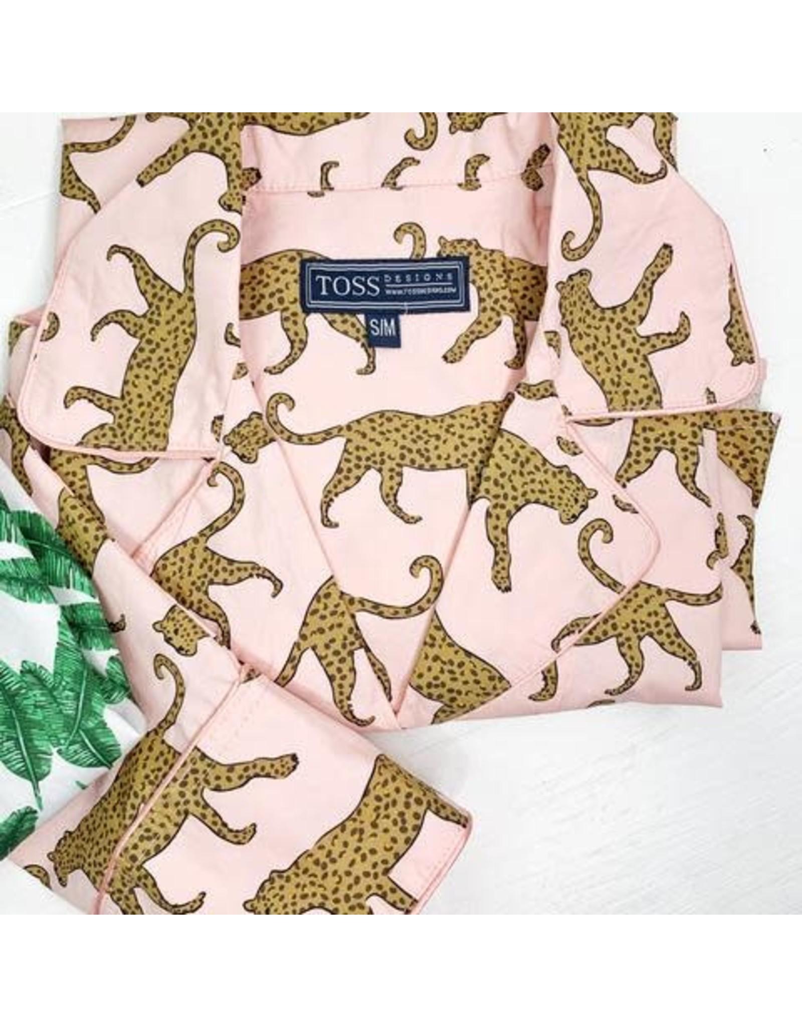 (S/M) Nightshirt: Leopard