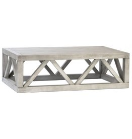 Acacia Solid Wood Coffee Table
