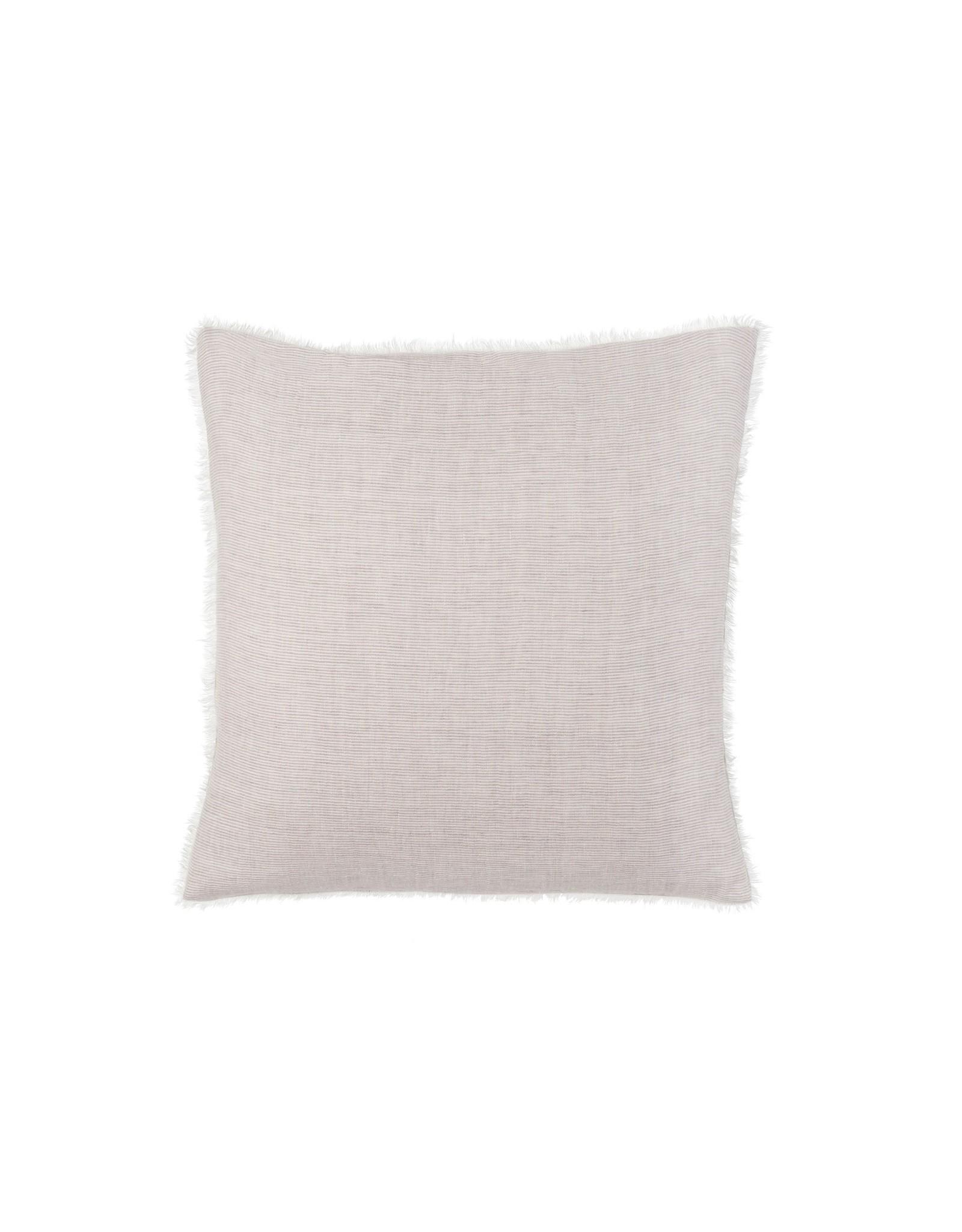 24x24 Skye Linen Pillow, Grey