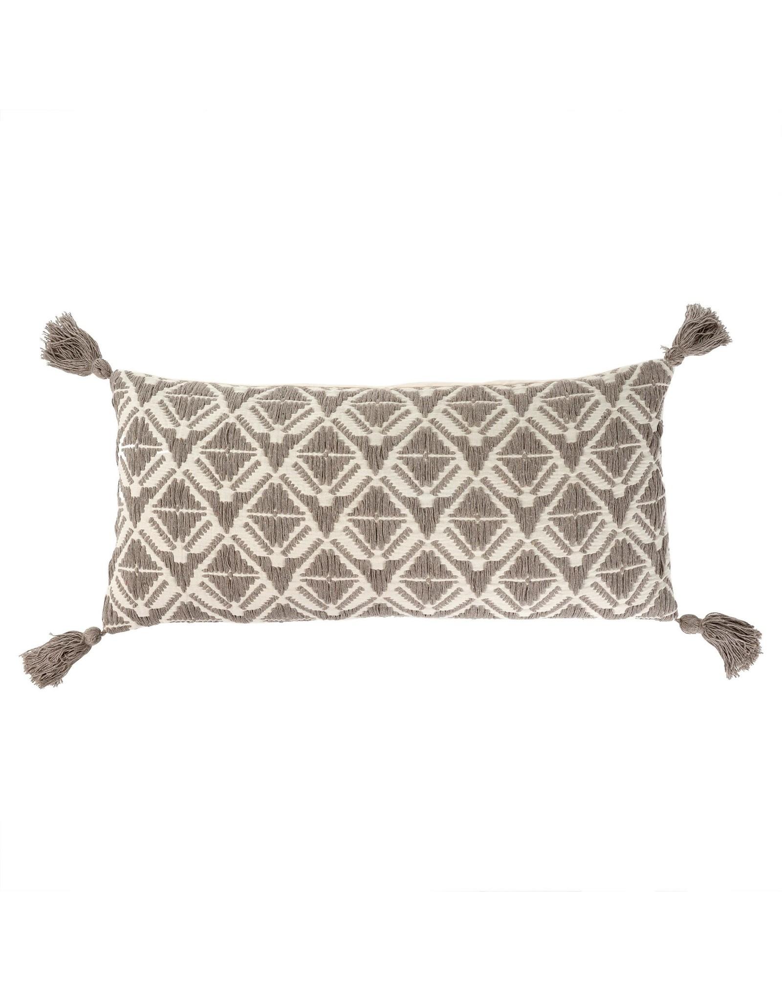 15x32 Stella Bolster Pillow, Stone