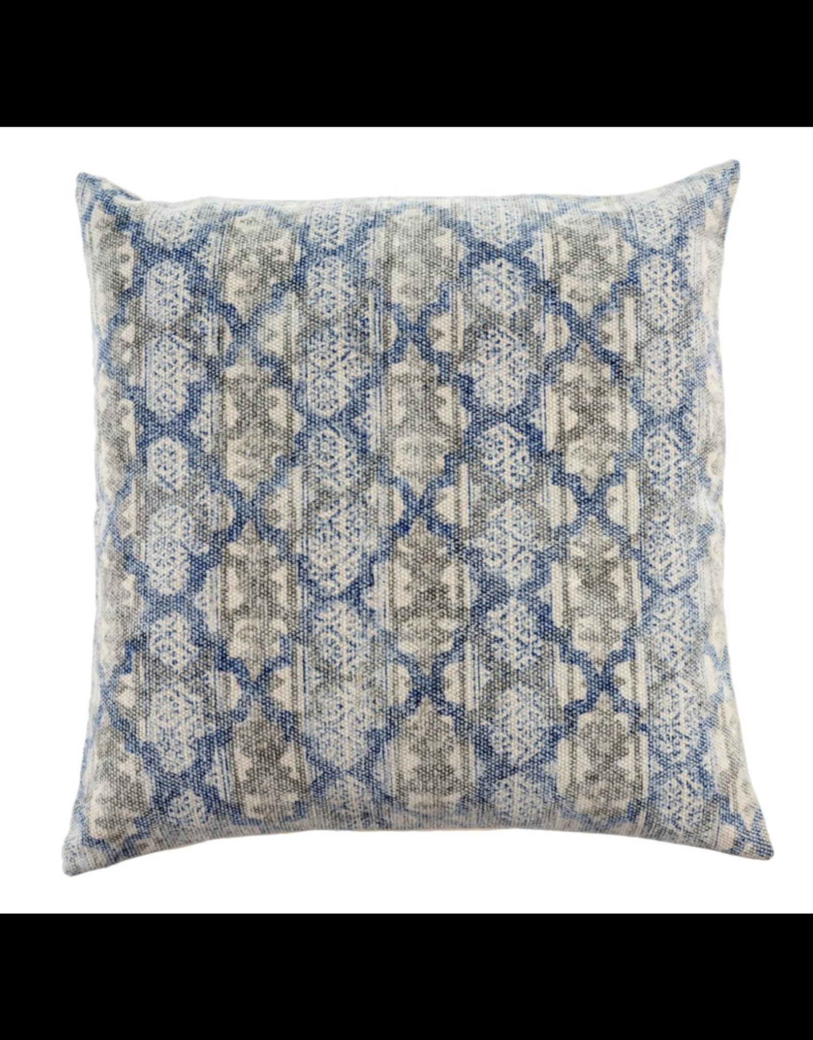 24x24 Stonewashed Blue Pillow