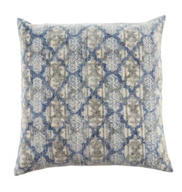 24x24 Stonewashed Blue Pillow