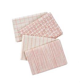 Dot & Doodle Tea Towels Pink