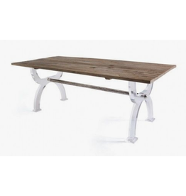 Acrylic Base Dining Table
