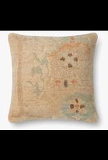 18x18 Beige/Green ED Pillow