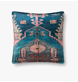 22x22 Blue Kilim Pillow