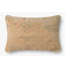 13x21 Brown/Beige Pillow