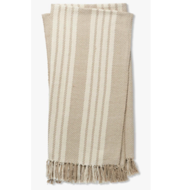 "4'-2"" X 5' Lora Throw in Ivory"