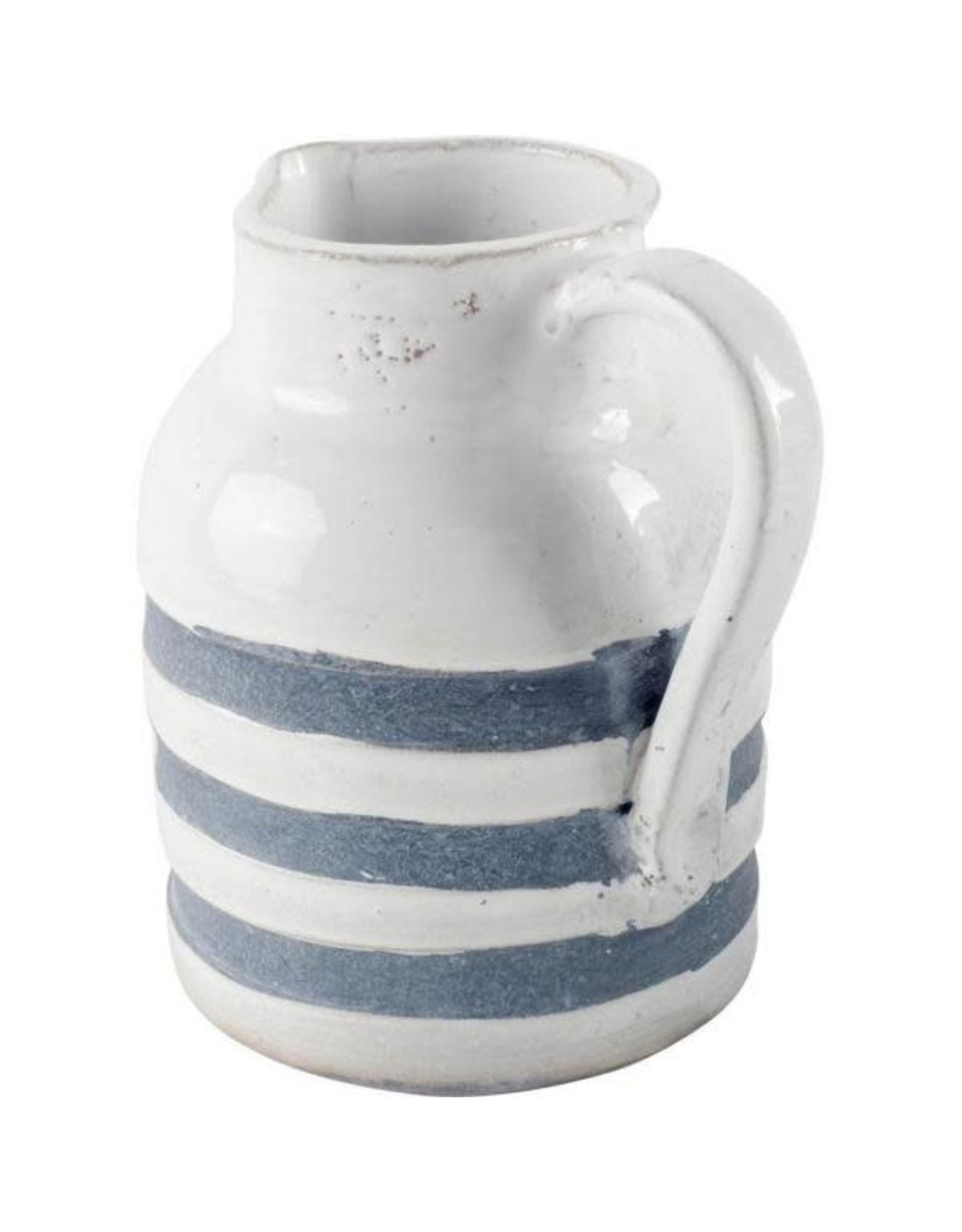 Large Blue and White Pitcher