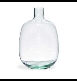 "Bryson Clear Vase 9.75"""