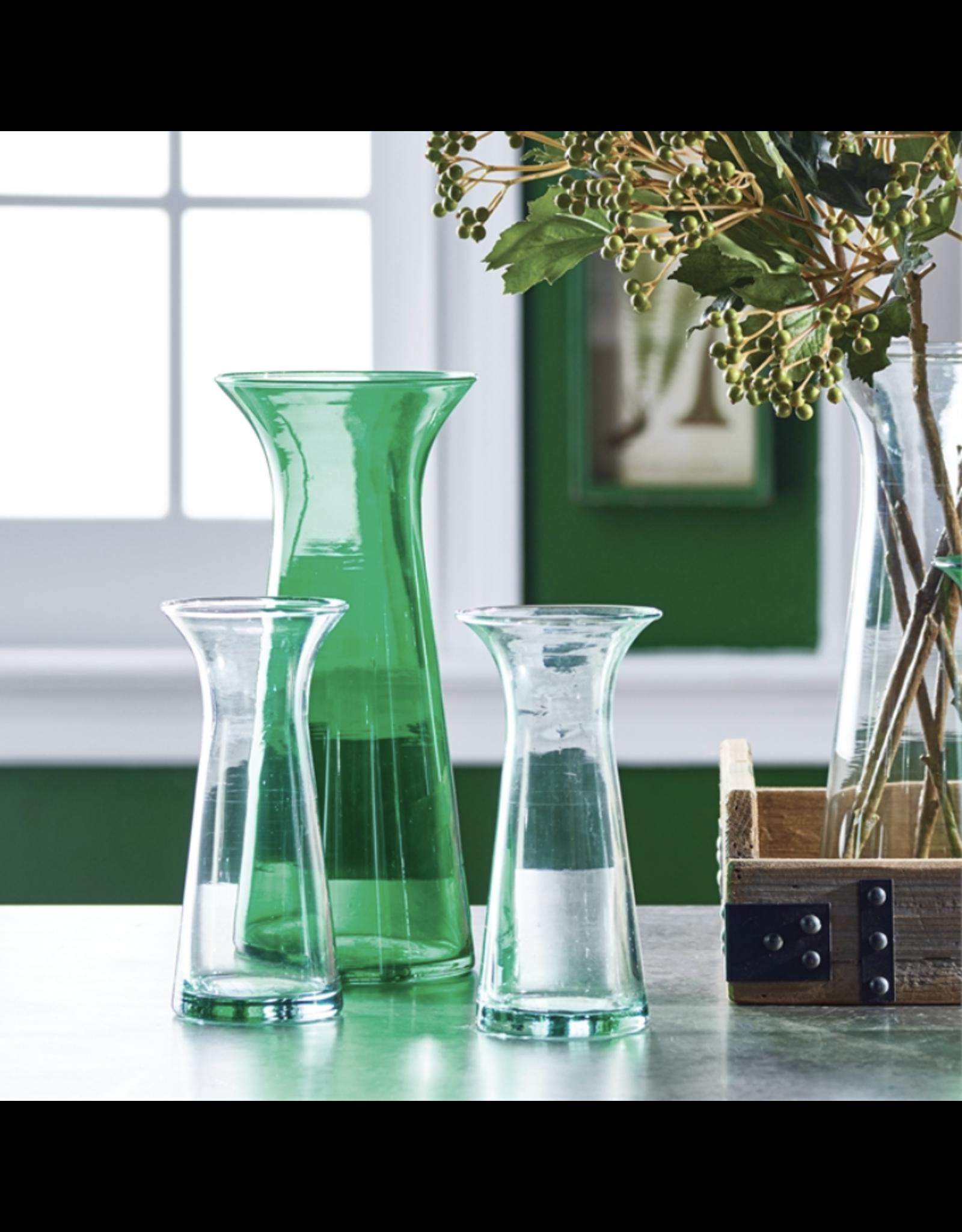 """Emilia Clear Vase 7.75"""""""
